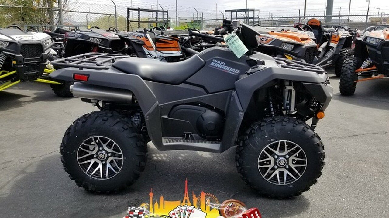 2019 Suzuki KingQuad 750 for sale 200599745
