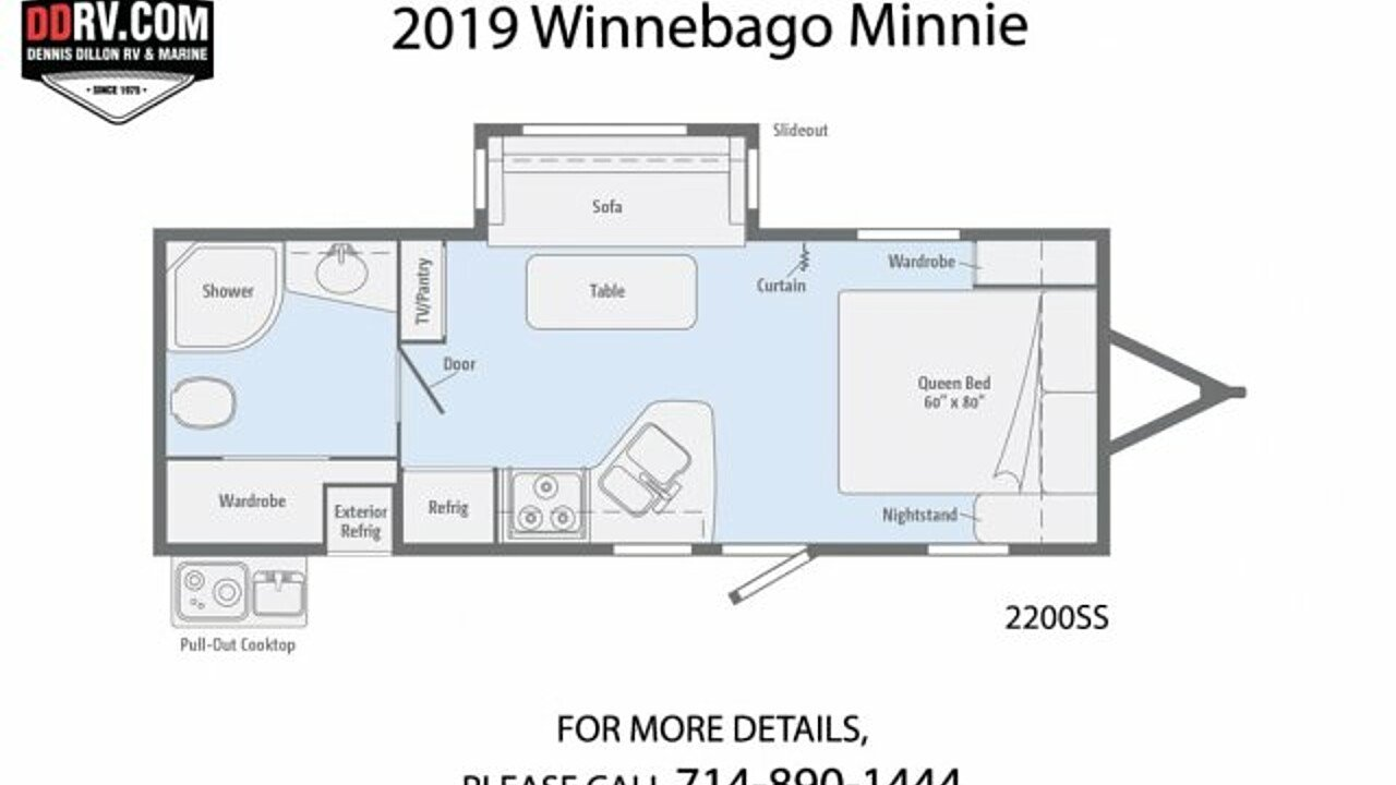 2019 Winnebago Minnie for sale 300158940