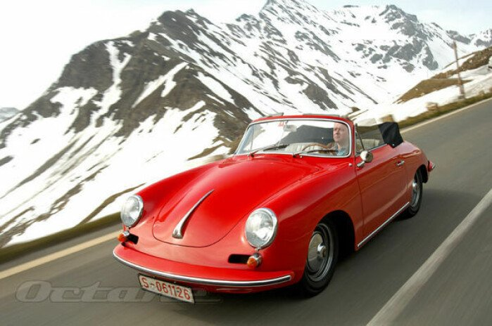 A Porsche 356 Odyssey
