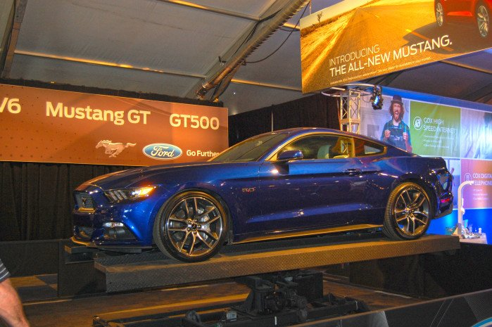 Ford Adds Excitement To The 2014 Barrett-Jackson Auction