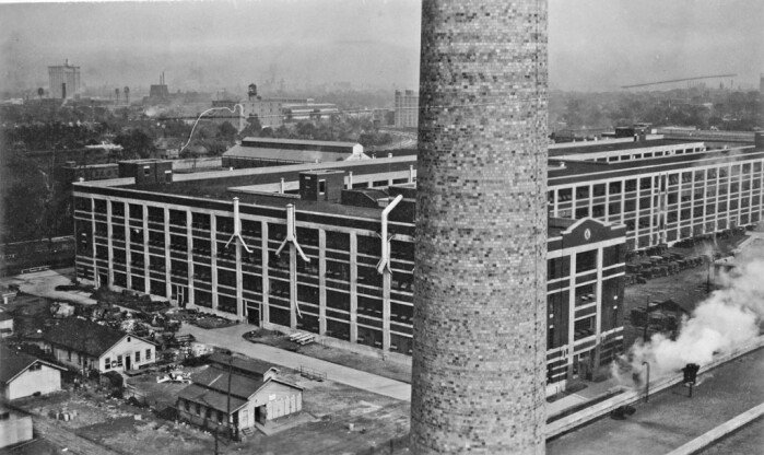 Old Factories: Cadillac's Clark Street embly Plant - Clics on ...