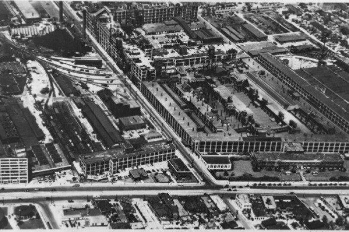 Old Factories: Hudson Jefferson Avenue plant