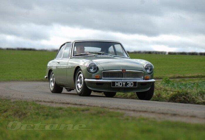 Quick Drive: MGB LE 50