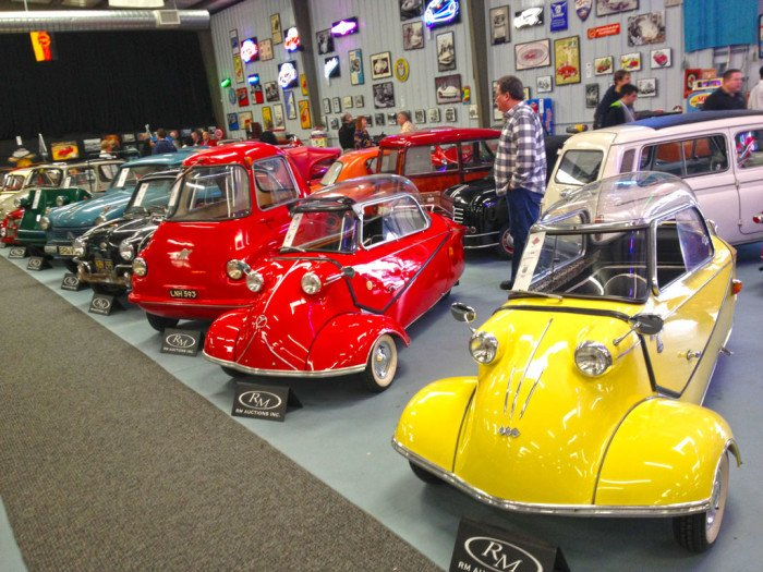 Report: RM Auctions - Bruce Weiner Microcar Museum