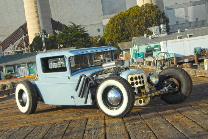 """Rivet City"" 1927 Chrysler 3 Window Coupe"