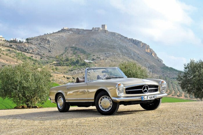 The Mercedes-Benz SL Turns 60 Years Old