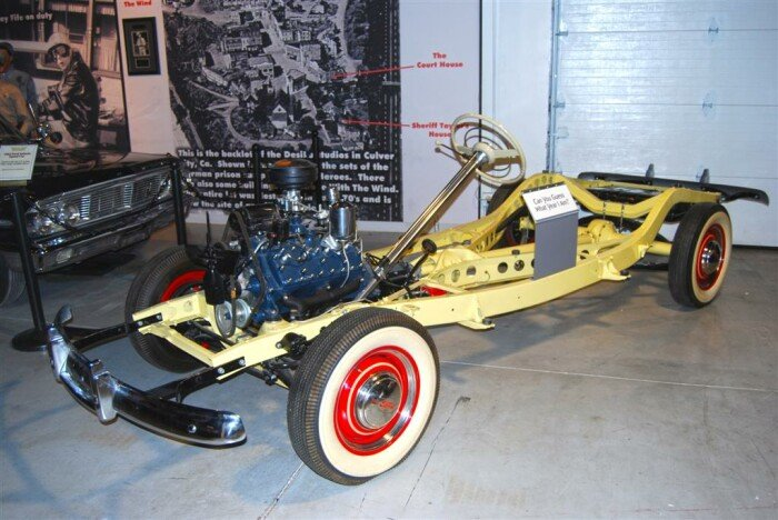 "The Rarest Pre-War Ford - 1942 ""X-Ray"" Chassis"