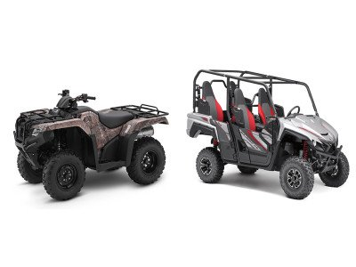 ATVs vs. Side-by-Sides: What's the Difference?