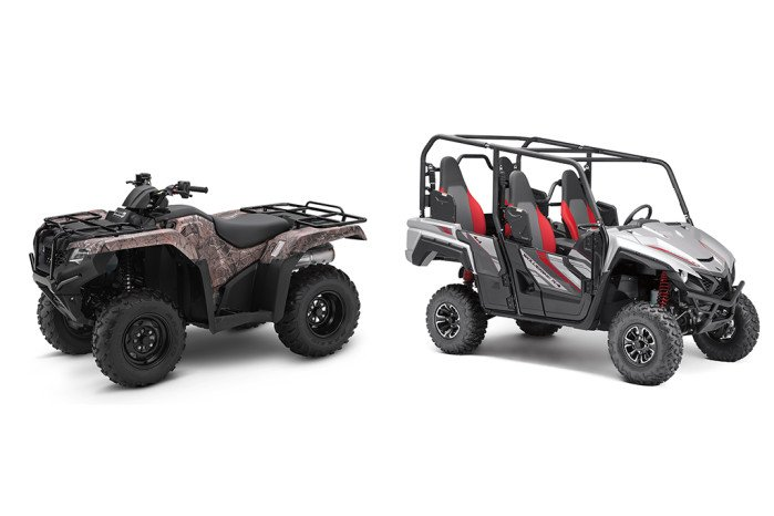 Side By Side Atv >> Atvs Vs Side By Sides What S The Difference Motorcycles On