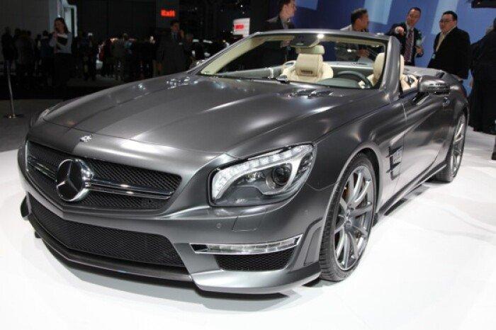 2013 Mercedes SL65 AMG: New York Auto Show