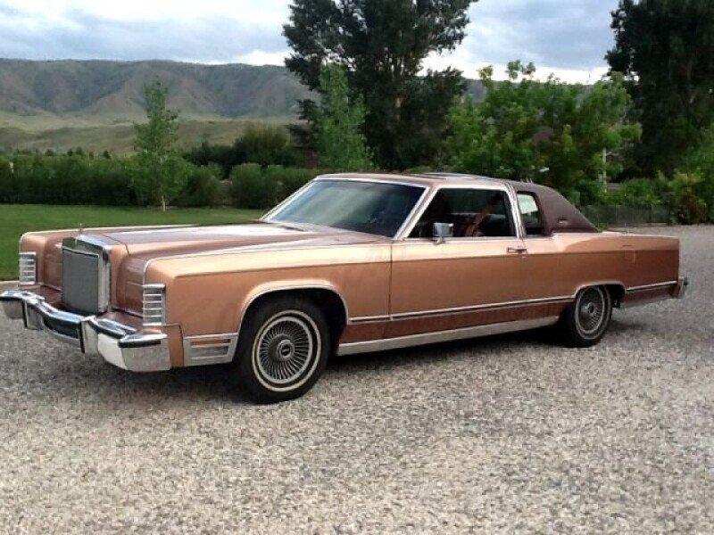 Lincoln Classics For Sale Classics On Autotrader