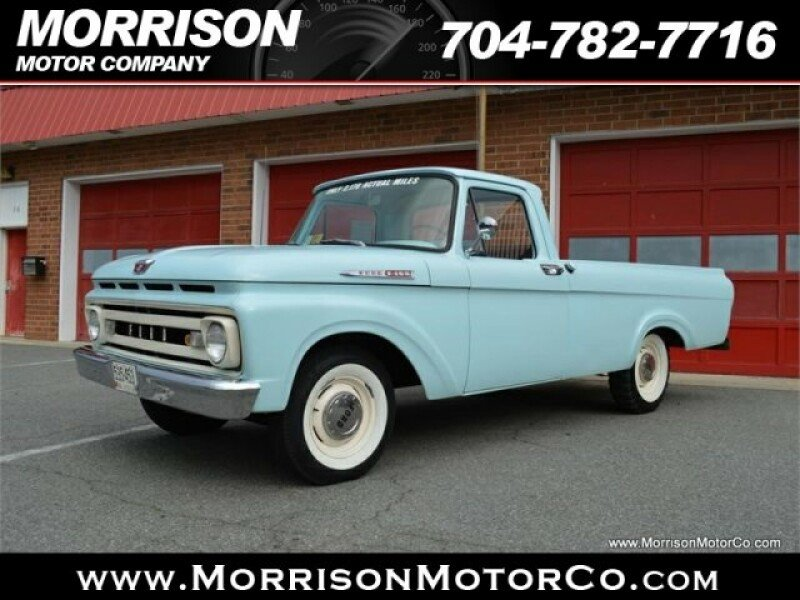 1961 Ford F100 Classics for Sale - Classics on Autotrader