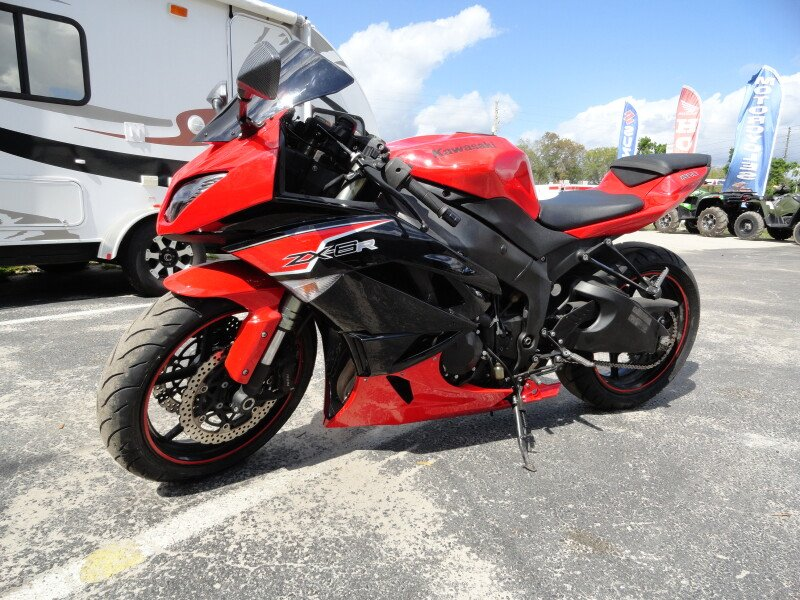 2010 Kawasaki Ninja ZX-6R Motorcycles for Sale - Motorcycles on ...